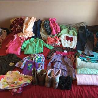 Girl clothes- Newborn To 5yrs