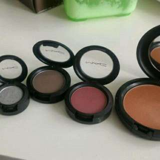 MAC Bronzer And Eyeshadows
