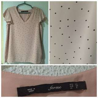 For Me Pink Top
