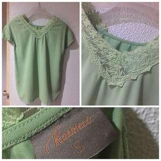 Kaschieca Green Top