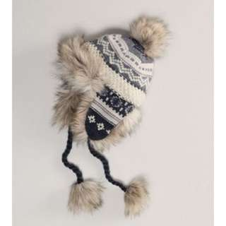 AMERICAN EAGLE WINTER TRAPPER HAT TOQUE EARFLAPS