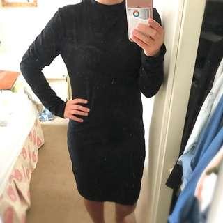 Cotton On Black Dress Size L