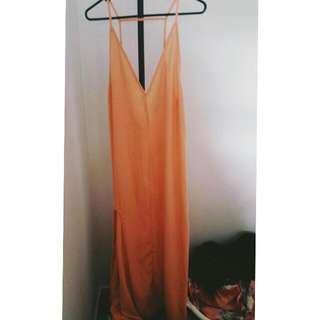 Size 10 Maxi Dress With Side Split