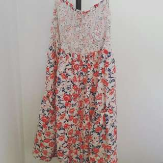 Size 6 Roxy Beach Dress
