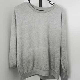 Forever 21 Grey Basics Sweatshirt