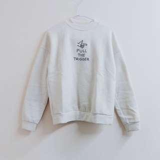 韓國製 🇰🇷 手指圖案鋪棉上衣