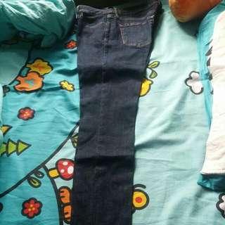 uniqlo長牛仔褲,jeans #mayflashsale