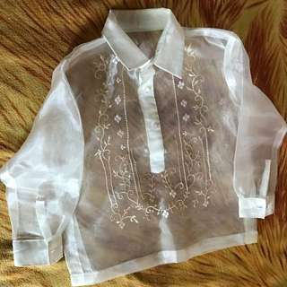 Barong For Toddlers