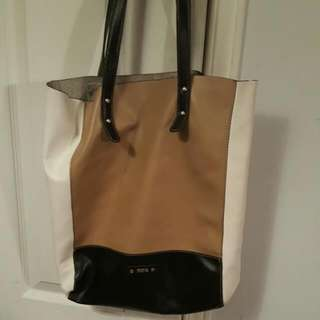 Leather ROOTS TOTE BAG
