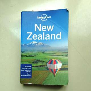 New Zealand Lonely Planet 2014 Edition English 紐西蘭 新西蘭