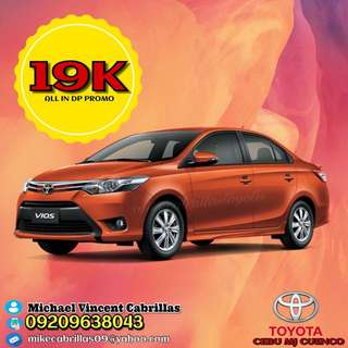toyota vios all in dp