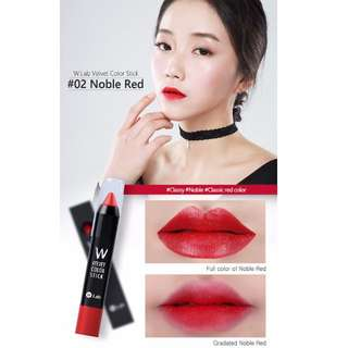 W-Lab Velvet Color Stick
