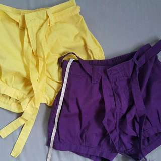 2pcs Shorts For 1-3 Years Old