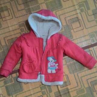 jaket tebal anak