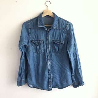 Sportsgirl Soft Denim Shirt