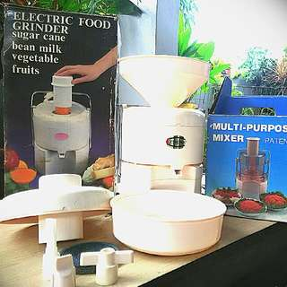 Multi Purpose Mixer N Electrik Food Grinder Merk SIGMA