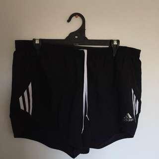 Adidas running shorts size XL