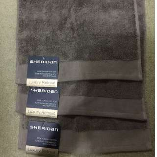 New Sheridan Luxury Retreat Collection Face Washer RRP $19.95