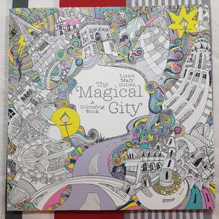 Magical City Colouring Book