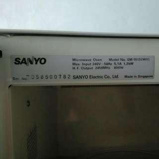 Micromax Oven Sanyo