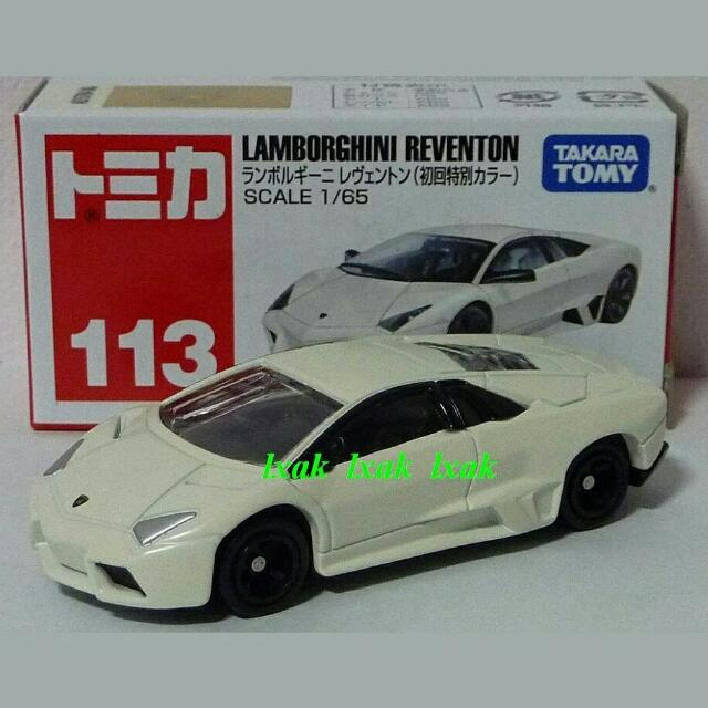 113 3 Lamborghini Reventon White Limited Colour Tomica Model Toys