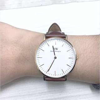 DW Daniel Wellington 40mm 手錶