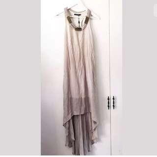 LIVING DOLL Dress - Size 8 - Ladies Maxi HiLo Mullet Boho Hippie