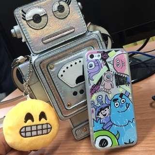 🚚 怪獸大學 手繪 手機殼 iPhone6 iPhone6s