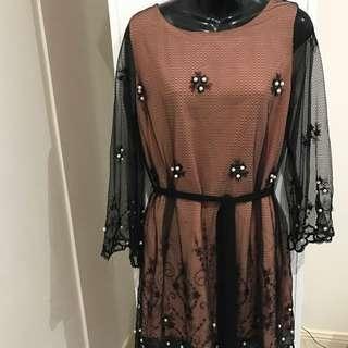 BNWT ASOS Lace Style Dress Sz10