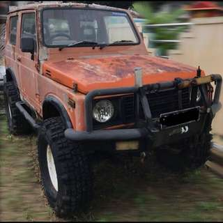 Suzuki Jimny With Reg Card, Offroad Ready