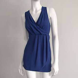 Royal Blue Summer Ease Dress