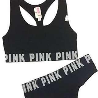 Victoria Secret PINK underwear and Bra Set