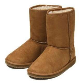 Ugg Style Boots,Van's Brand, Tan Color, Unisex Style