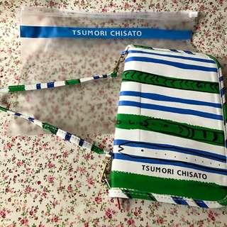 Cosmo 雜誌附錄- Tsumori Chisato 旅行袋/証件袋/銀包/化妝袋