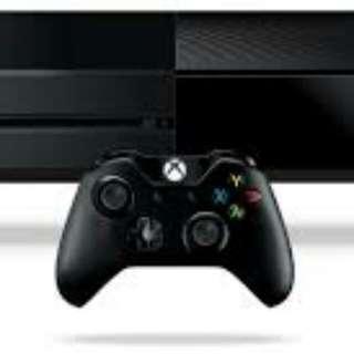 Xbox One +1手掣+1遊戲+HDMI 線及火牛
