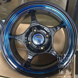 """15"""" Rim With New Tyre"""