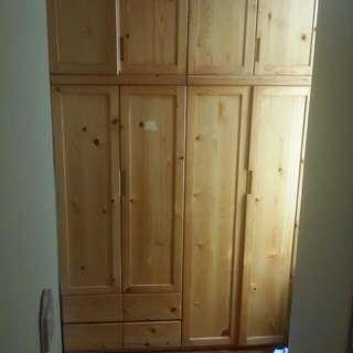翡翠家居 實木 衣櫃