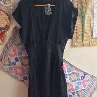 Bnwtag H&m Black Kimono Dress