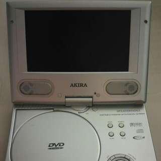 """AKIRA Portable DVD Player 7"""""""