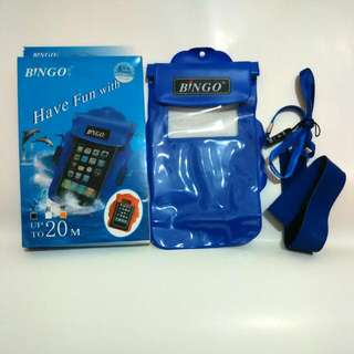 Case Waterproof Armband Bingo Ori HP Layar Maks 5 Inch