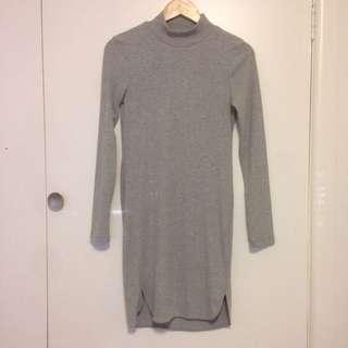 Grey Mini Dress
