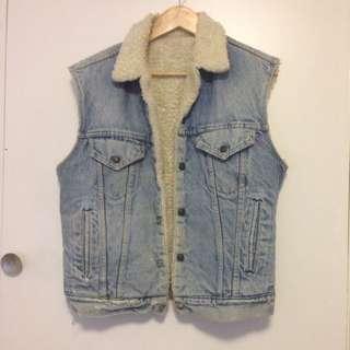 Vintage Levi's Shearling Vest