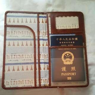 長身旅行證件套