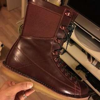 NIKE 高筒皮靴