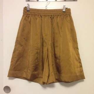 Gorman Gold/Olive Shorts