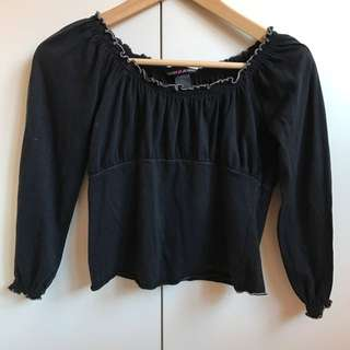 DKNY Cropped Top