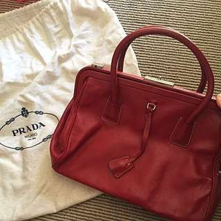 100% Authentic Vintage Prada Doctor Bag