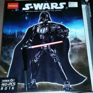 Star Wars Inspired 1.1 LEGO  Darth Vader Poe Dameron REY 160pcs Lego */102 Pcs