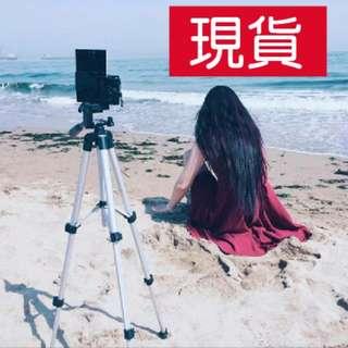 現貨)手機三腳架支架拍照自拍架微單相機便攜角架