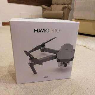 Mavic Pro used (without box but great condition)